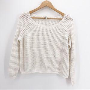 Joie Net Porcelain Sweater